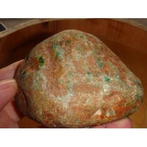 缅甸翡翠赌石达摩坎暴绿色松花全赌料宝石奇石摆件手玩件毛料原料